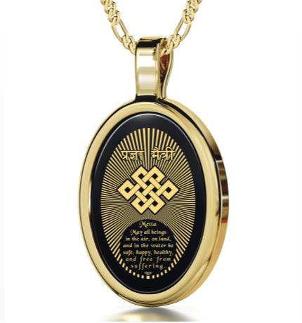 buddhistjewellerymettaprayerandcompassionwithendlessknotnanojewelry