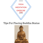 Tips For Placing Buddha Statue